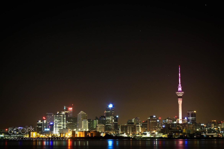 Photograph Good Night Auckland by Qallam Ahmad on 500px