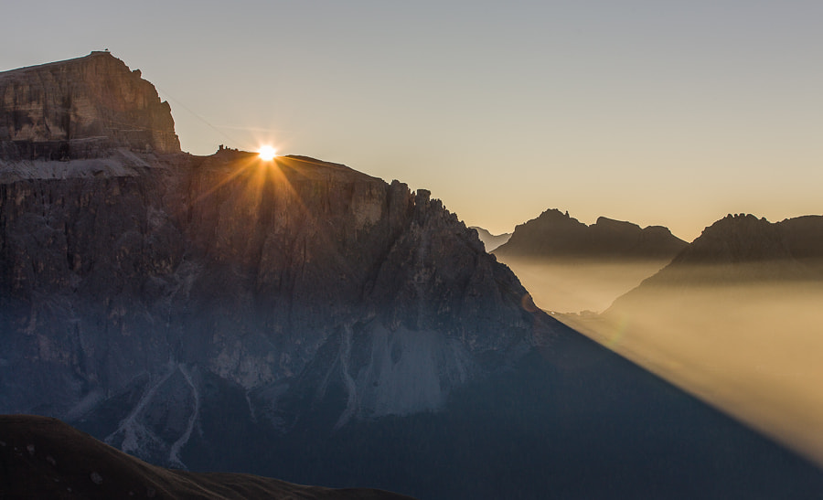 """<a href=""""http://www.hanskrusephotography.com/Workshops/Dolomites-October-7-11-2013/24503434_Pqw9qb#!i=2198836442&k=2HsVs99&lb=1&s=A"""">See a larger version here</a>  This photo was taken during a photo workshop that I led in the Dolomites October 2012."""