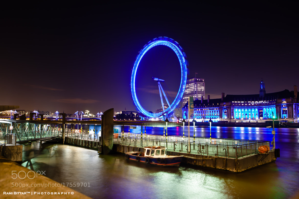 Photograph London Eye... by Rami Bittar on 500px