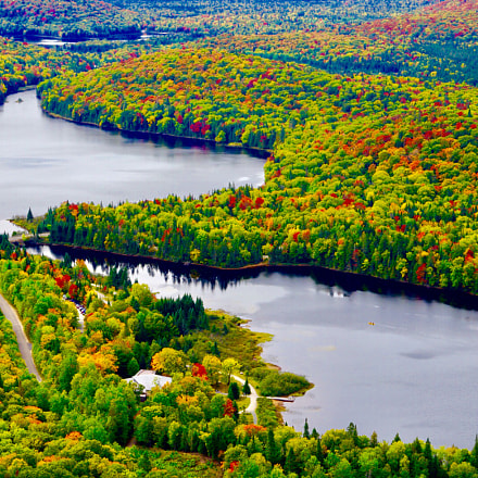 mount tremblant, Sony ILCE-7M2, Sony FE 70-200mm F4 G OSS