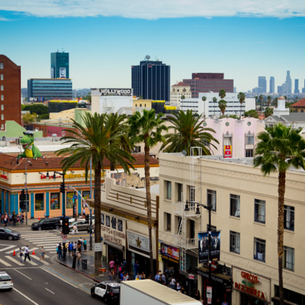 Hollywood Boulevard, Los Angeles, Canon EOS 6D, Canon EF 24-105mm f/4L IS