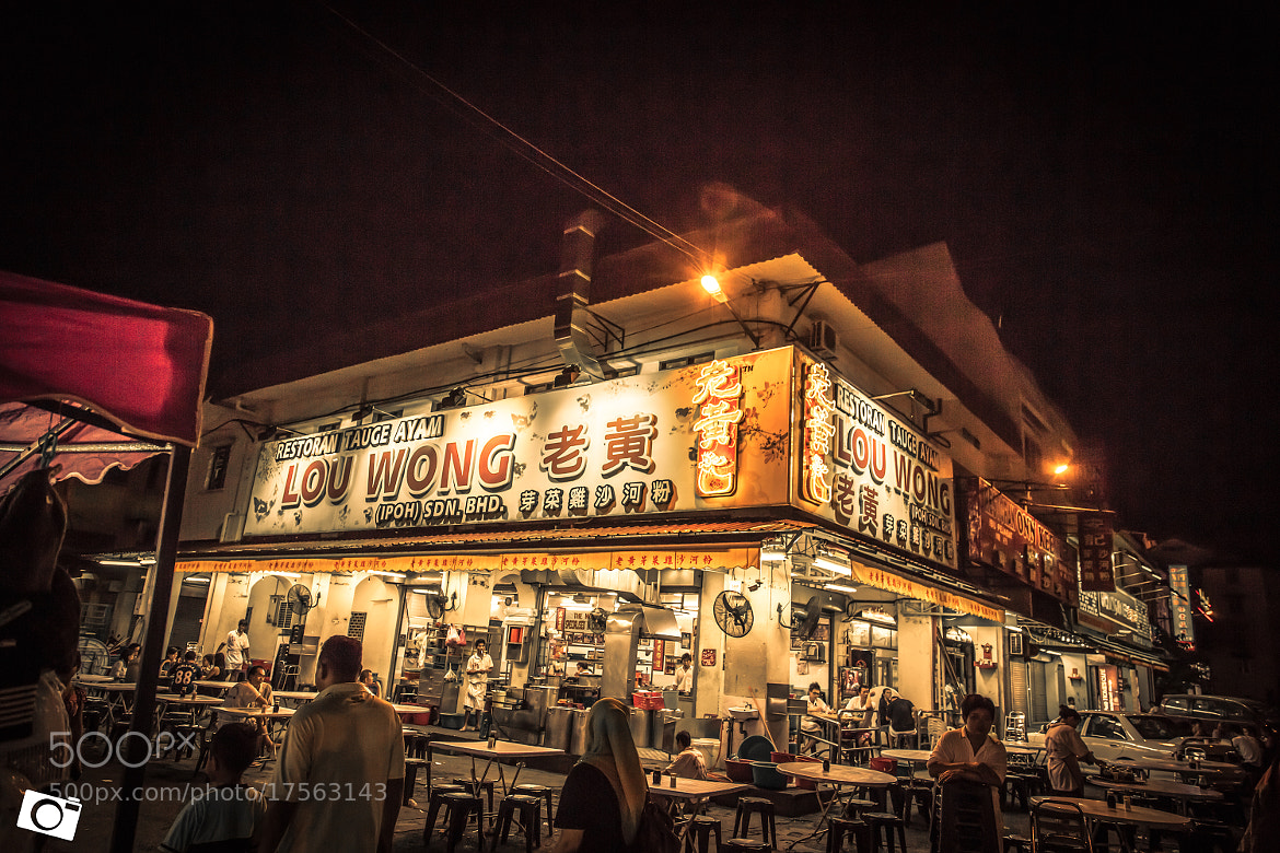 Photograph Lo Wong Restaurant Tauge Ayam by Alex Lim on 500px