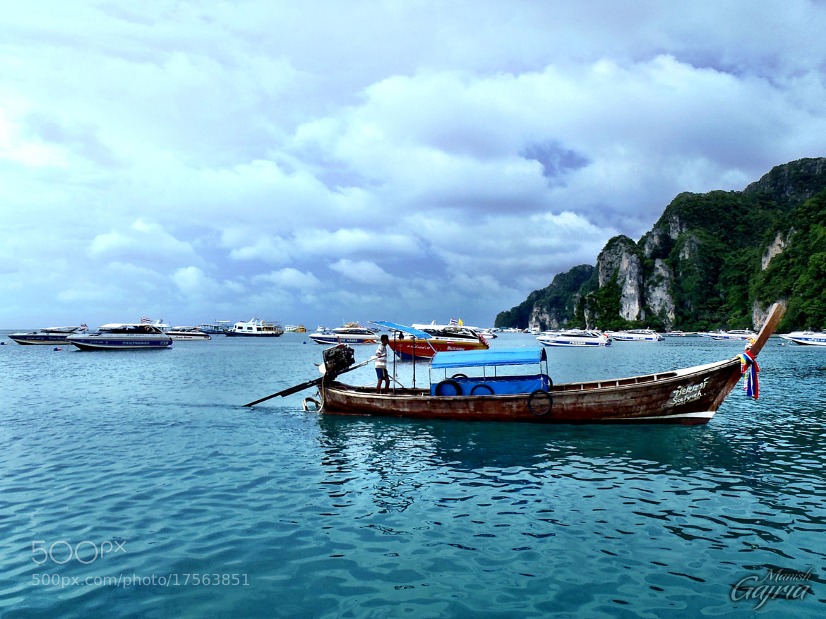 Photograph Traditional Long Tail Boat of Thailand by Manish Gajria on 500px