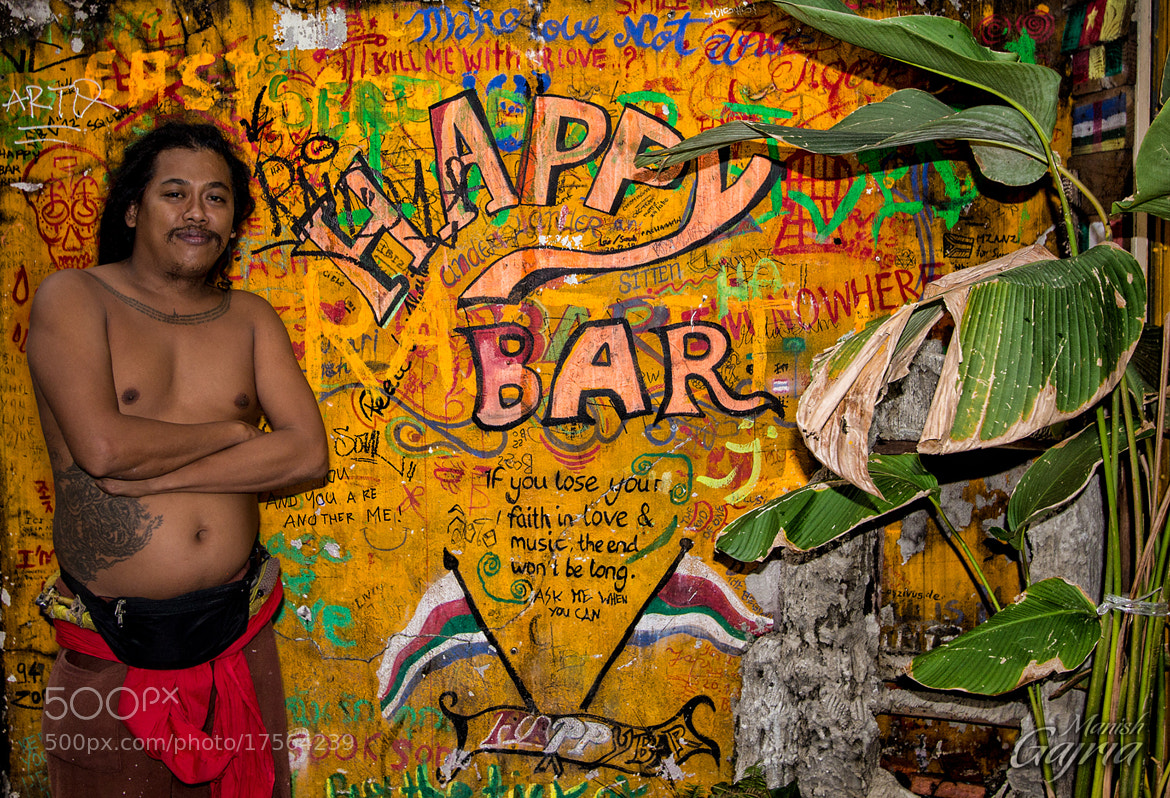 Photograph Happy Host of the Happy Bar by Manish Gajria on 500px