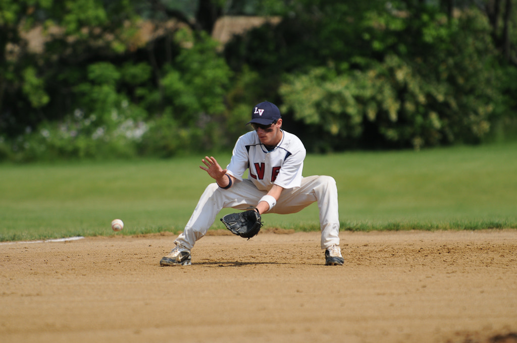 Photograph Shortstop Making the Play by Bob Shank on 500px