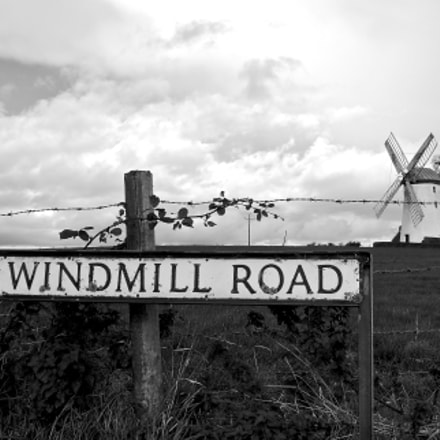 Ballycopeland Windmill in Northern, Sony NEX-5, Tamron 18-200mm F3.5-6.3 Di III VC