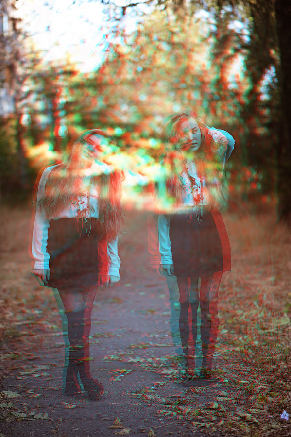 Photograph 3D&Double exposure lol by Dastan  Zhumagulov on 500px