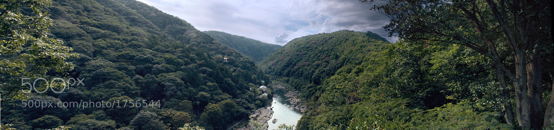 Photograph Arashiyama Panorama by Oisin Conolly on 500px