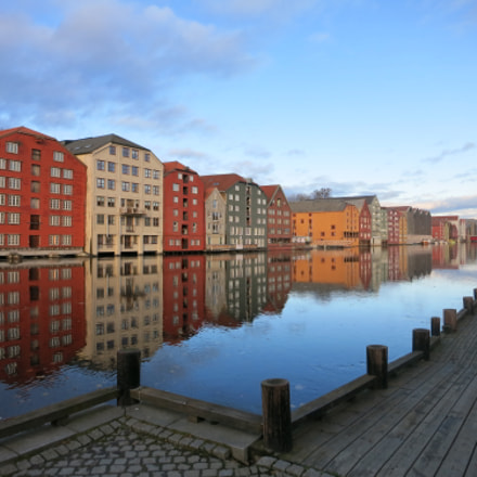 Storehouses in Trondheim