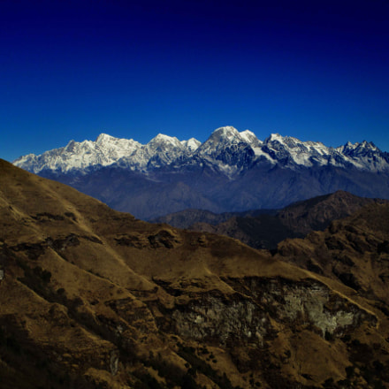 View from Kalinchowk, Canon POWERSHOT A4000 IS