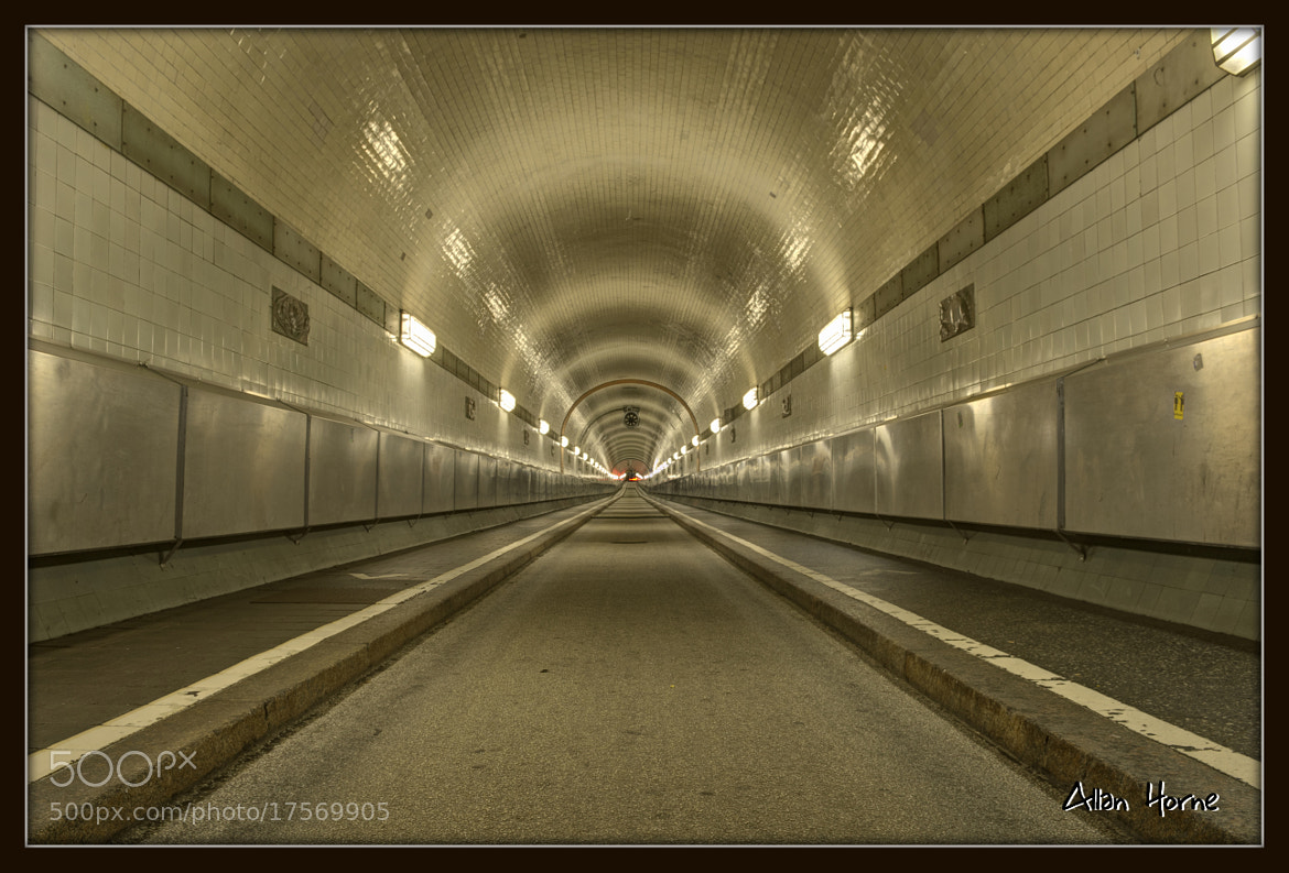 Photograph Elbtunnel Hamburg by Allan Horne on 500px