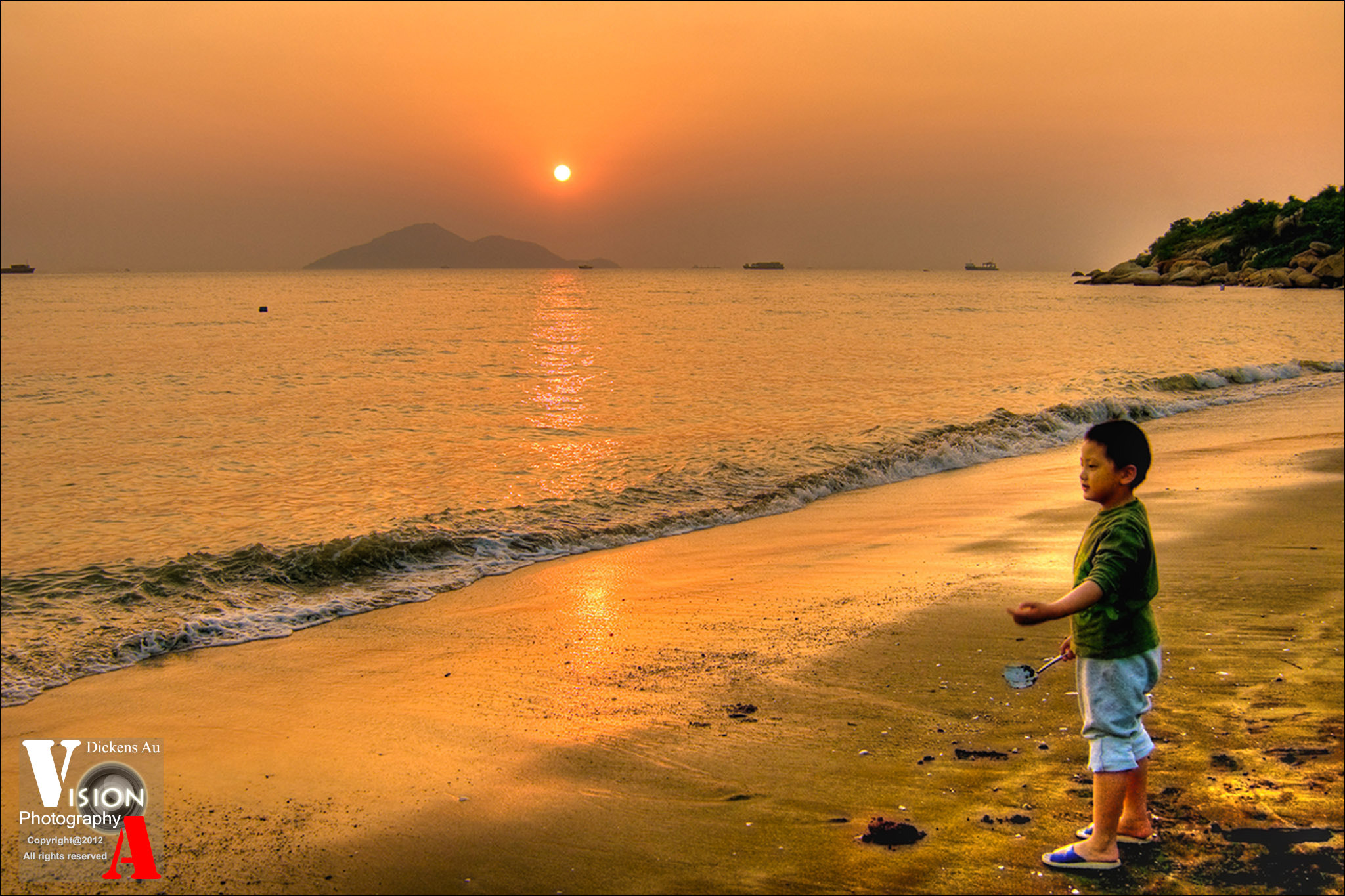 Photograph Magic sunset (Hong Kong) by Dickens Au on 500px