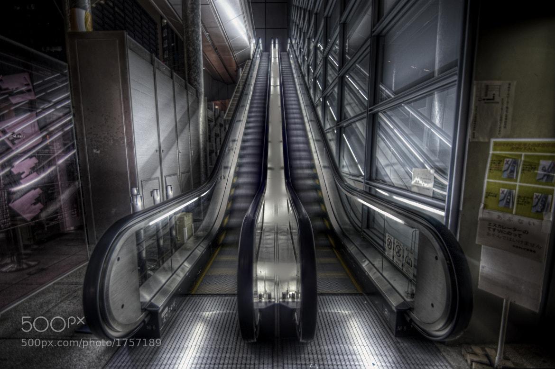 Photograph Cybertic Escalator by Kenji Doi on 500px