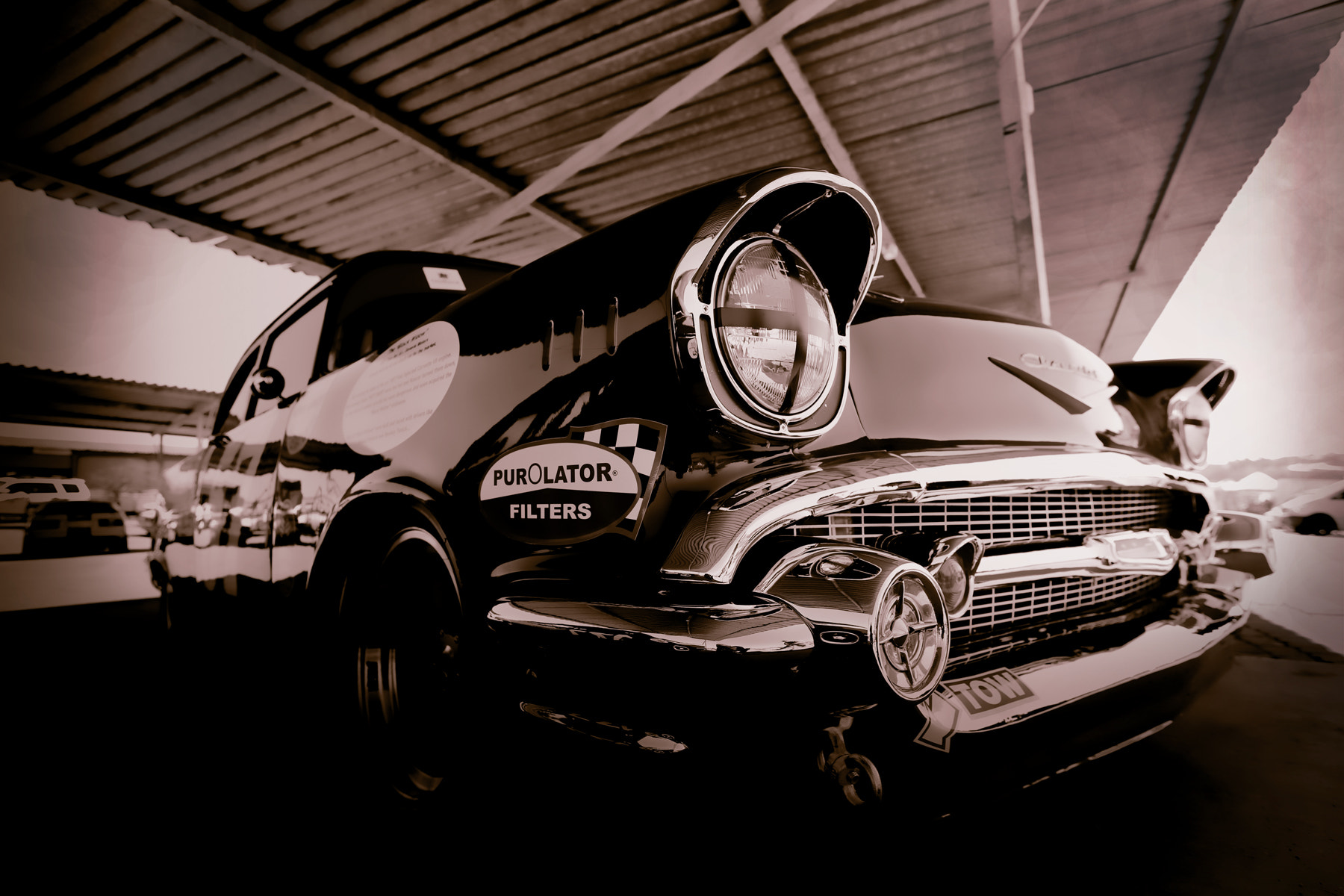 Photograph 1957 Chevy Black Widow by Pieter Oosthuysen on 500px