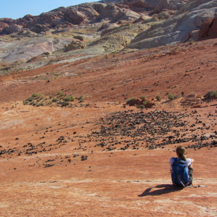 Chilling on Mars , Canon POWERSHOT SX220 HS