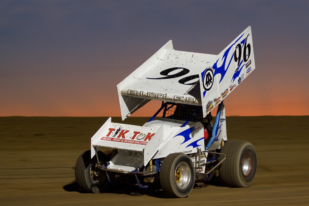 Photograph Sprint car at Sunset by Phil Armishaw on 500px