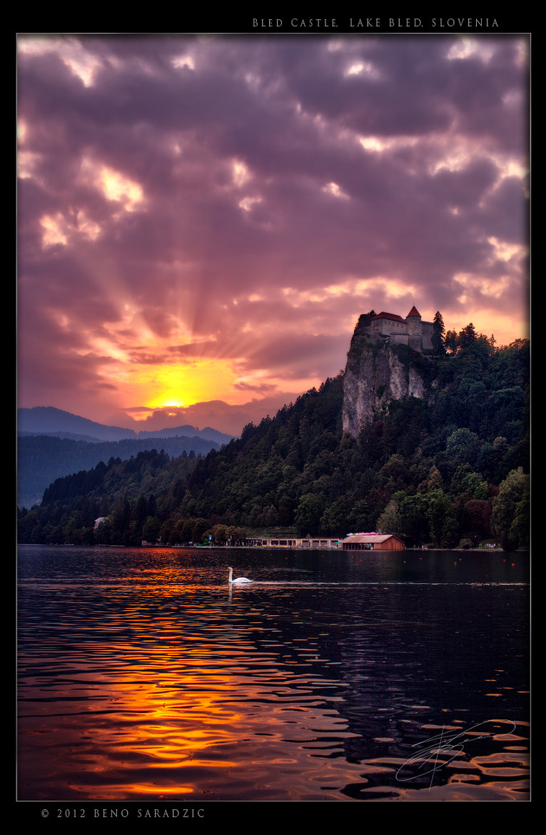 Photograph Bled Castle by Beno Saradzic on 500px