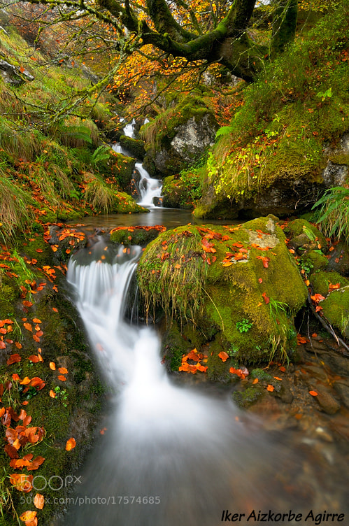 Photograph Udazkeneko urak / Aguas de otoño / Autumn waters by Iker Aizkorbe on 500px
