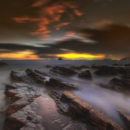 Dawn Taiwan North Coast, Canon EOS 5D MARK II, Canon EF 16-35mm f/2.8L II