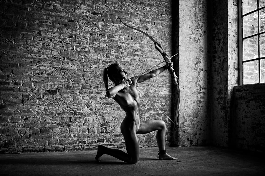 bow woman
