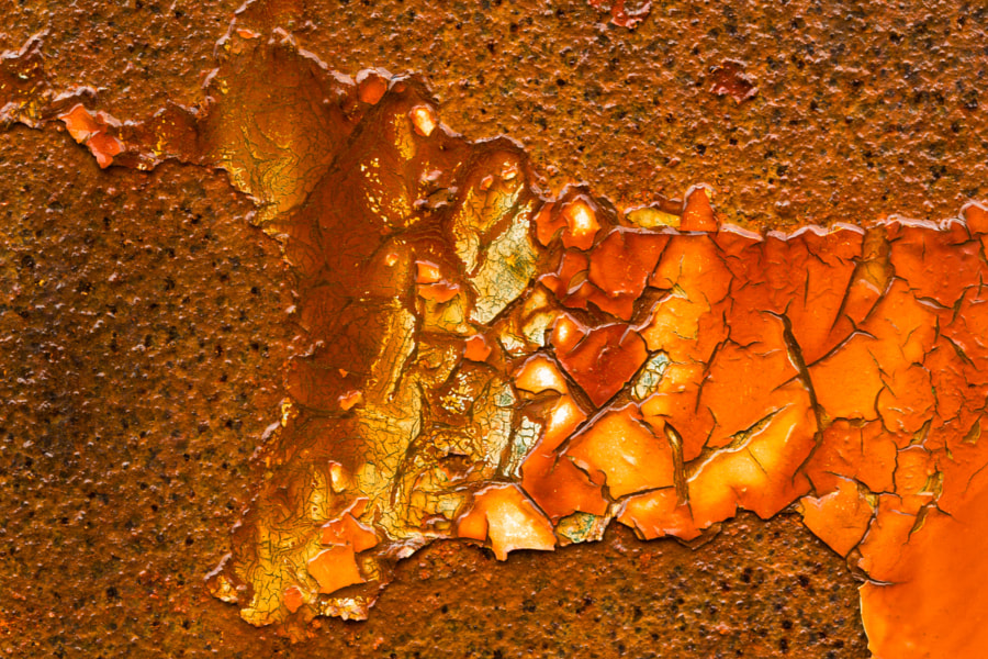 Red rust detail