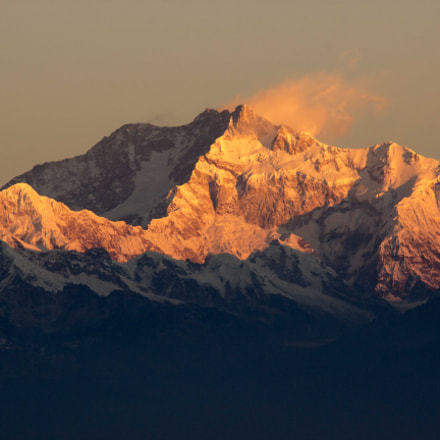 Mt Kanchenjunga , Canon EOS 600D, Canon EF-S 55-250mm f/4-5.6 IS II