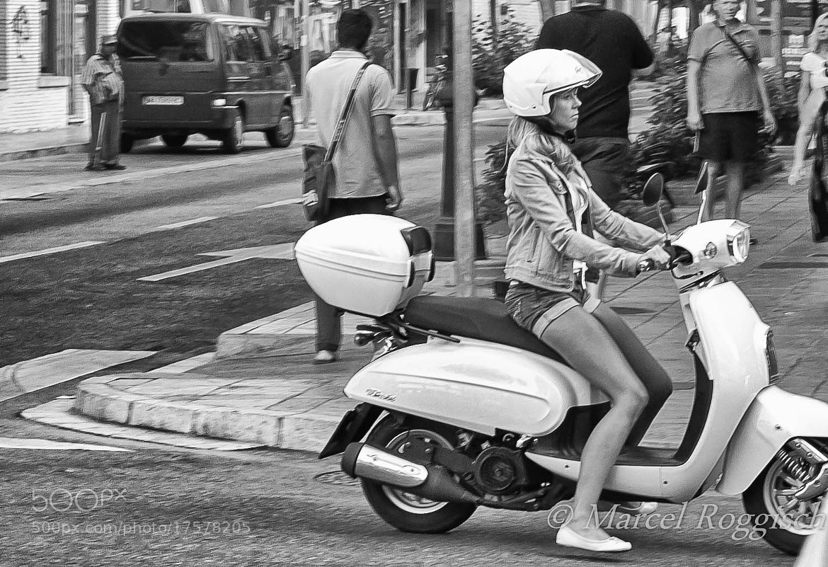 Photograph Scooter Girl by Marcel  Roggisch on 500px