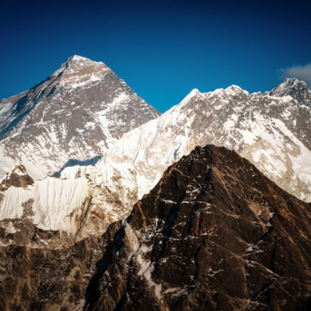 Mt.Everest, Nikon D7000, Sigma 55-200mm F4-5.6 DC HSM