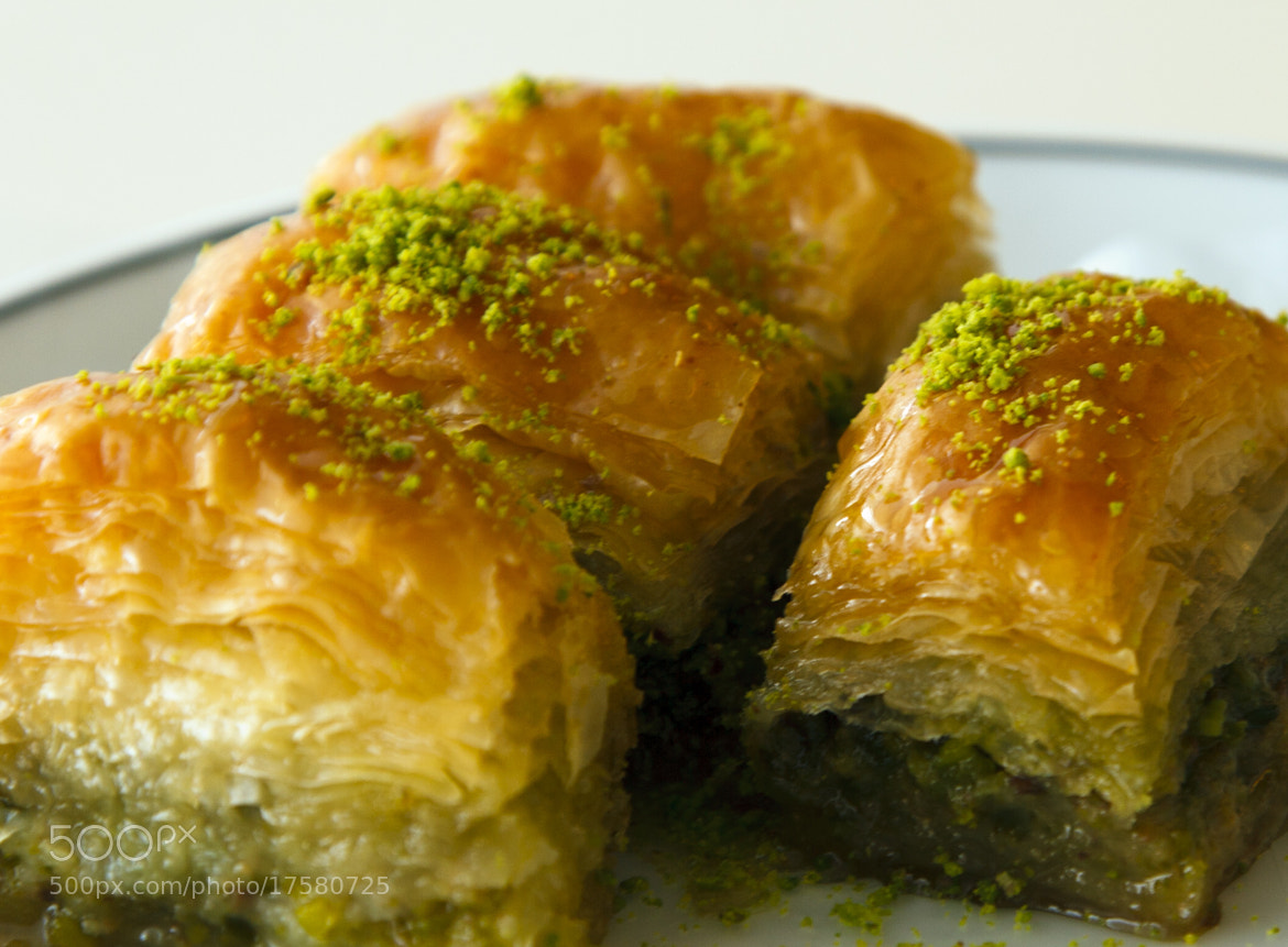 Photograph Baklava by Ahmet Yeşil on 500px