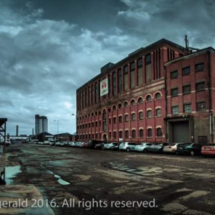 The Odlums Factory in, Canon EOS M3, Canon EF-M 18-55mm f/3.5-5.6 IS STM