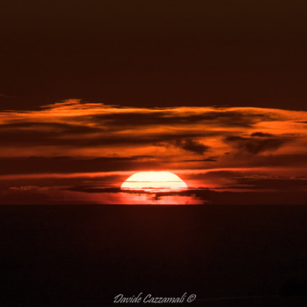 Sunset, RICOH PENTAX K-3, HD PENTAX-DA 55-300mm F4-5.8 ED WR