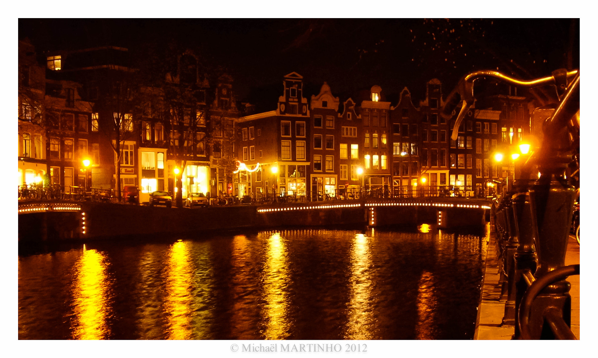 Photograph Lights of Amsterdam by Michaël MARTINHO on 500px