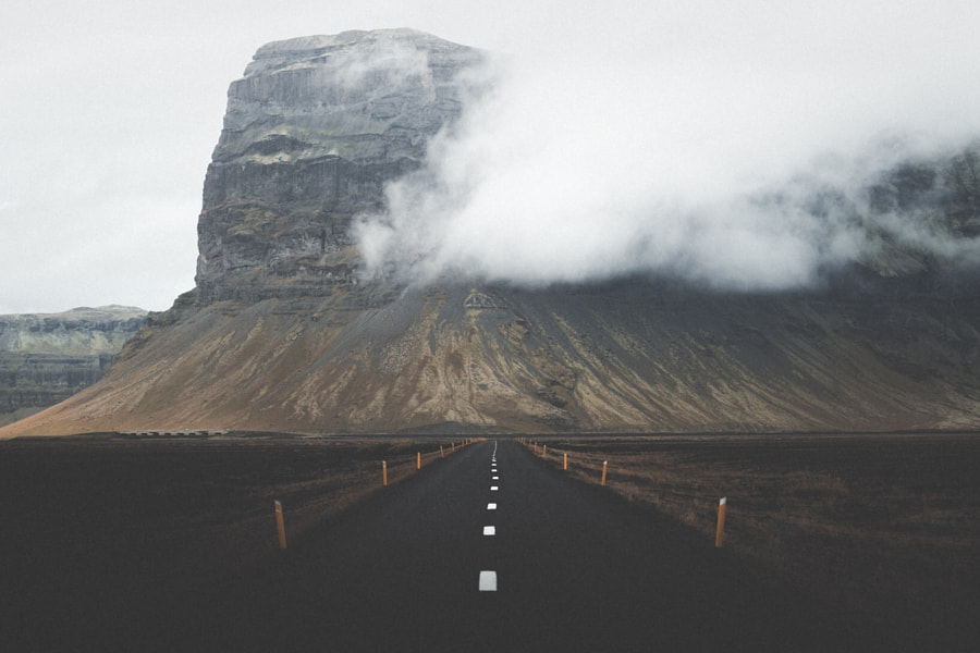Road to the Fog. de Benjamin Hardman sur 500px.com
