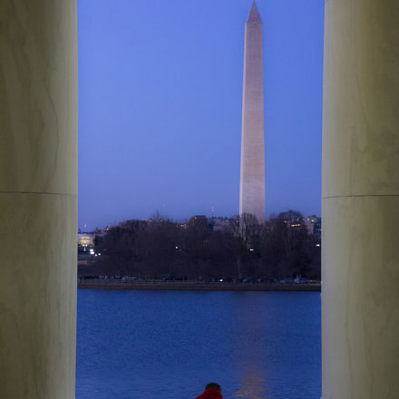 Dusk in DC, Canon EOS REBEL T2I, Sigma 18-250mm f/3.5-6.3 DC OS HSM