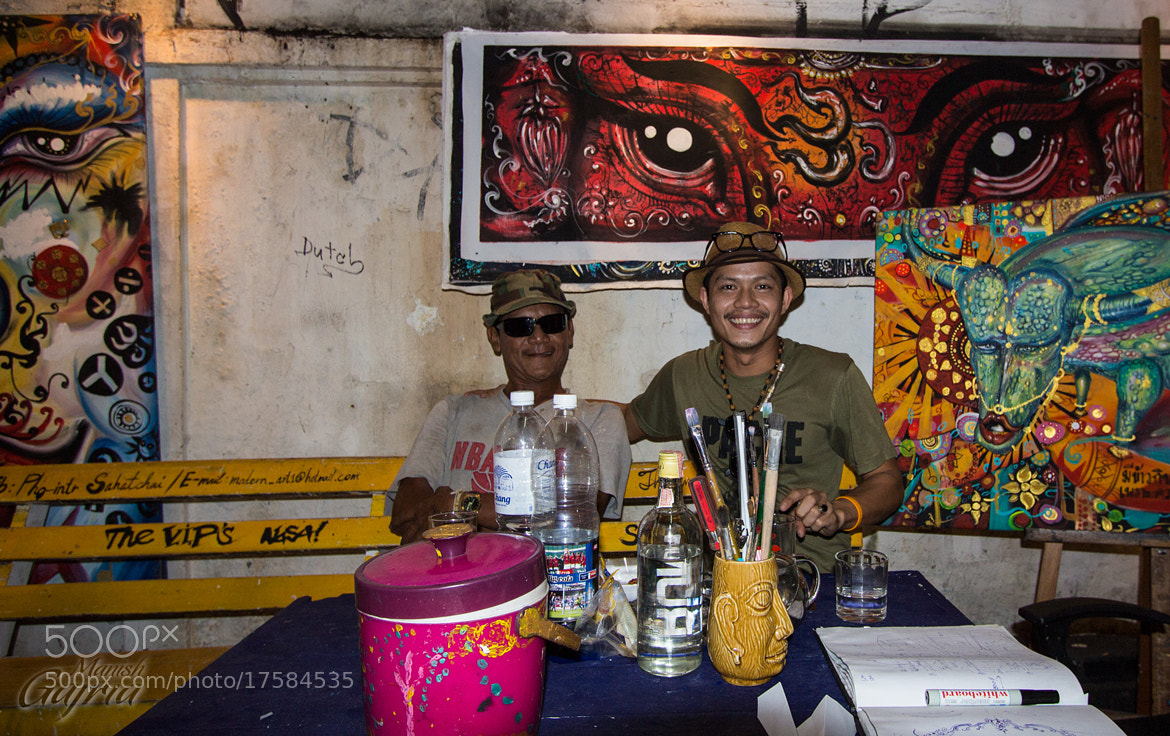 Photograph Colorful Workspace of Artists by Manish Gajria on 500px