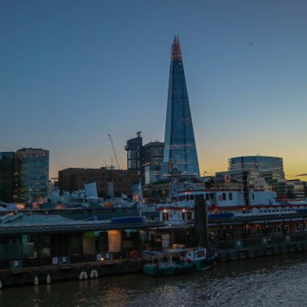 Shard, Canon EOS M3, Canon EF-M 15-45mm f/3.5-6.3 IS STM