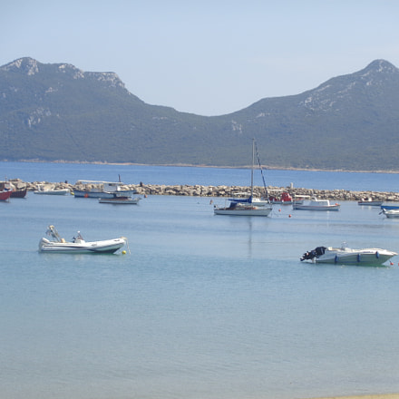 The view from Methoni, Sony DSC-W830