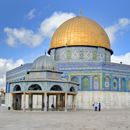 The temple mount in, Canon EOS 7D MARK II, EF-S17-55mm f/2.8 IS USM