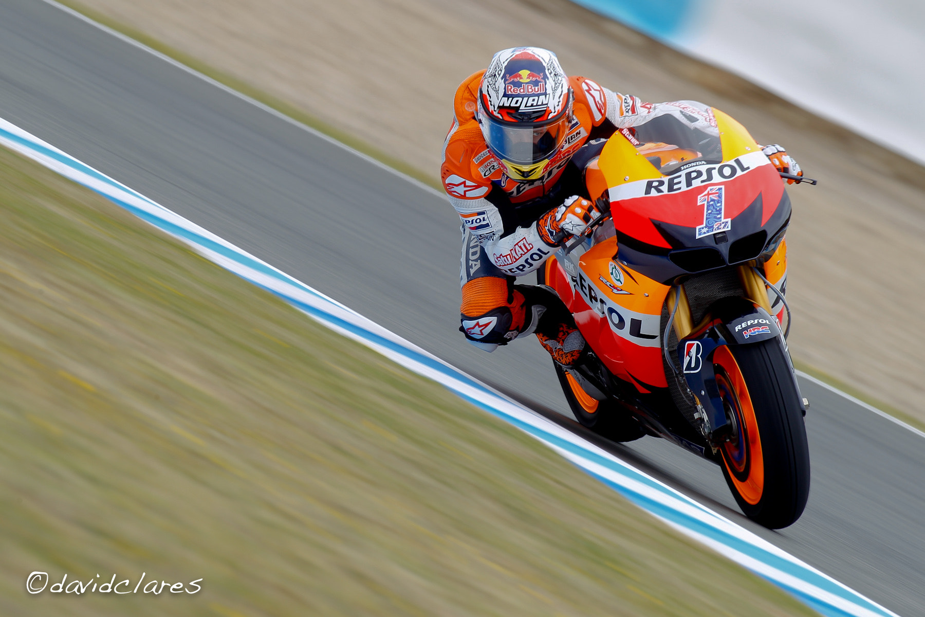 Photograph Casey Stoner REF. 0148 by David Clares on 500px