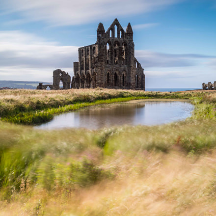 Whitby Abby, Canon EOS M3, Canon EF-M 18-55mm f/3.5-5.6 IS STM