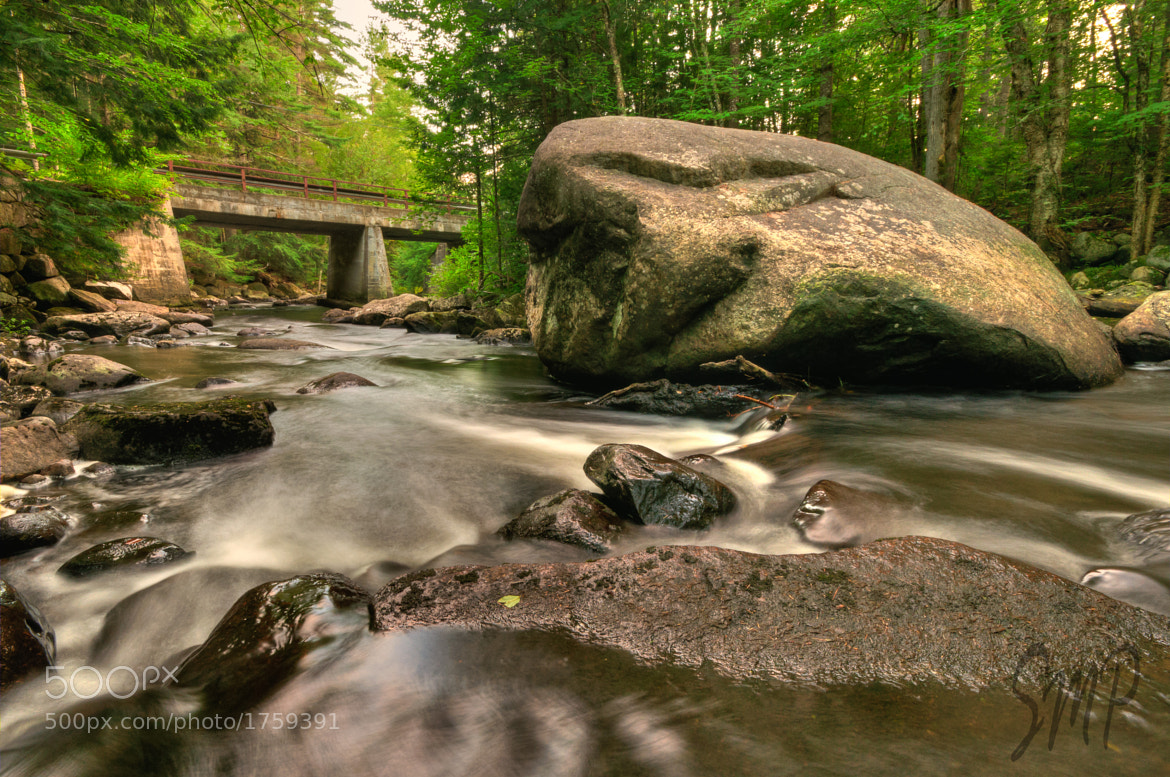 Photograph Big Rock in a Little Stream by Stephen Puliafico on 500px