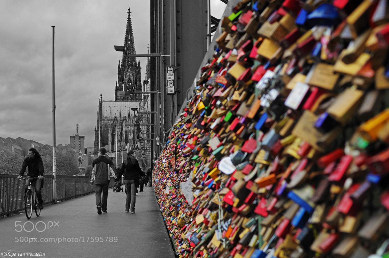 Photograph Hohenzollernbrücke, Köln by Hugo van Vondelen on 500px