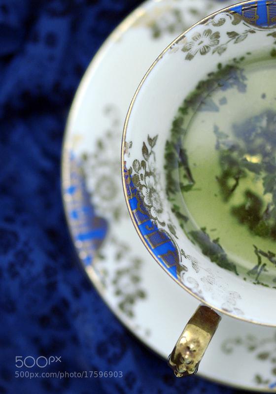 Photograph Tea in Blue by Jasmina Gorjanski on 500px