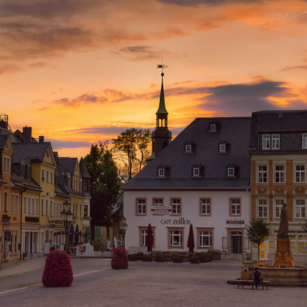 Sunset in Annaberg, Sony SLT-A77V, Sony DT 16-105mm F3.5-5.6 (SAL16105)