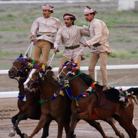 horses in oman, Canon EOS 7D, Canon EF 100-400mm f/4.5-5.6L IS USM