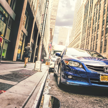 Car in Manhattan