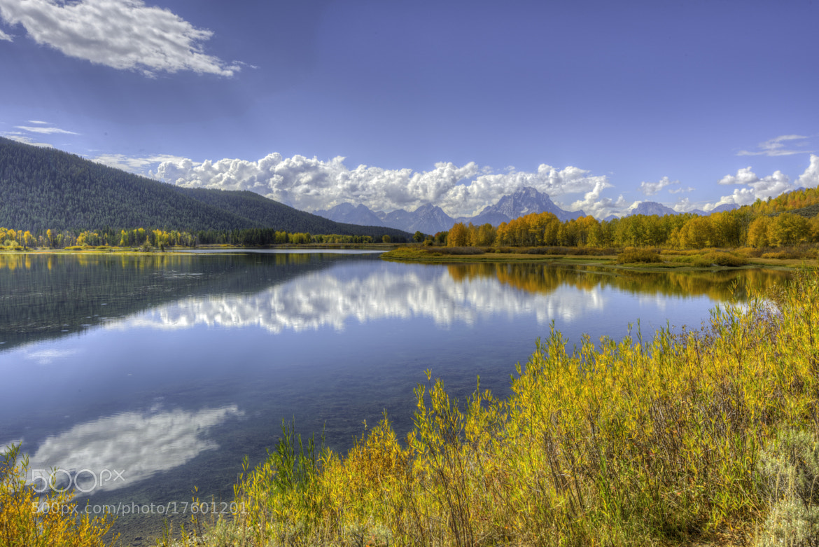 Photograph Oxbow Bend - The Wide View by Jeffrey Bank on 500px