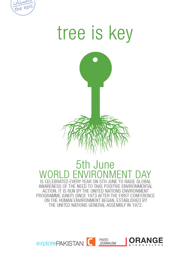 Photograph 5th June, world environment day by explore PAKISTAN on 500px