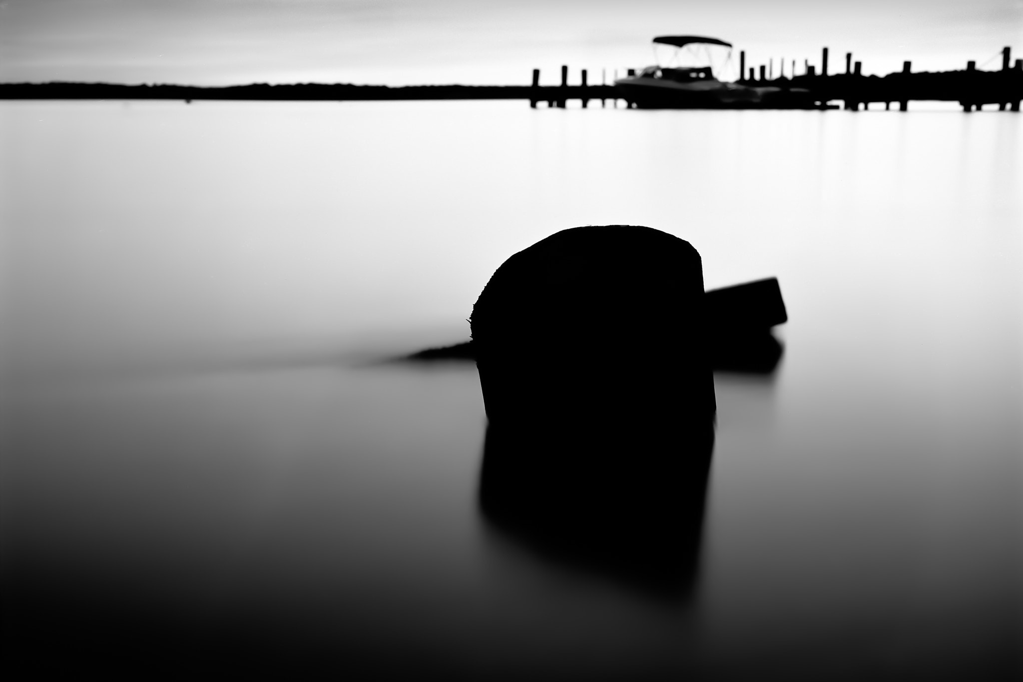Photograph Shadow of a Broken Dock by Paige Law on 500px