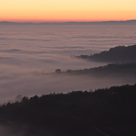 Mist, Canon EOS 6D, Canon EF 70-300mm f/4-5.6 IS USM